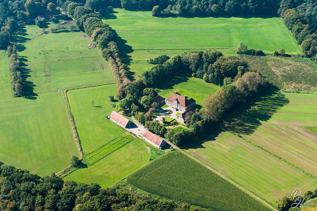 Luftbild Lingen - Schloss Herzford